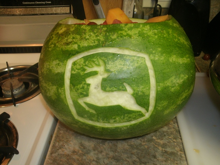 JOHN DEERE WATERMELON for birthday party...