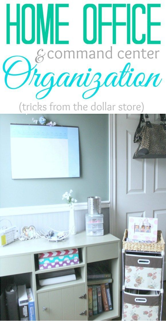 Get your office and your life more organized with these nifty tricks from the dollar store!