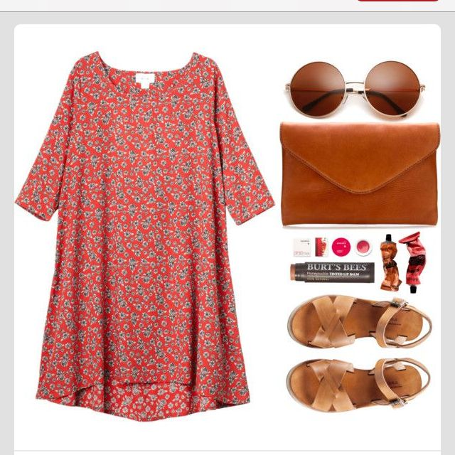 easy cute summer outfit - I will wear something like this soon...