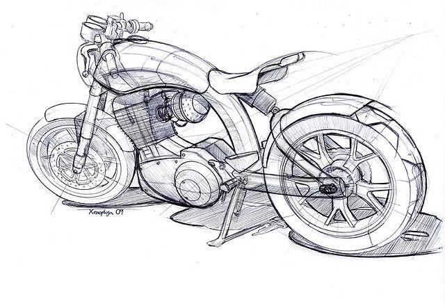 A beautiful concept sketch...