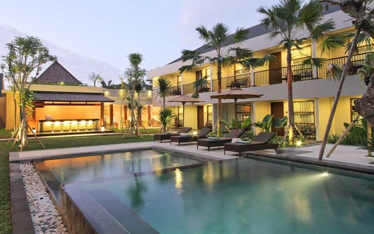 "Seminyak Getaway Package @ Amadea Resort | Amadea Resort and Villas is an oasis in the heart of Seminyak Bali. Located on the fashionable ""eat street"" with its' many boutiques and famous restaurants the resort is perfectly located for those who want to be in the heart of the action."