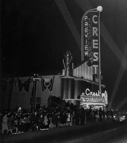 Crest Theatre in Long Beach (Bixby Knolls) saw a few movies there. Lived close to the theater.