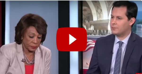 From The Horse's Mouth:  Maxine Waters Admits Democrats Have NOTHING [VIDEO]
