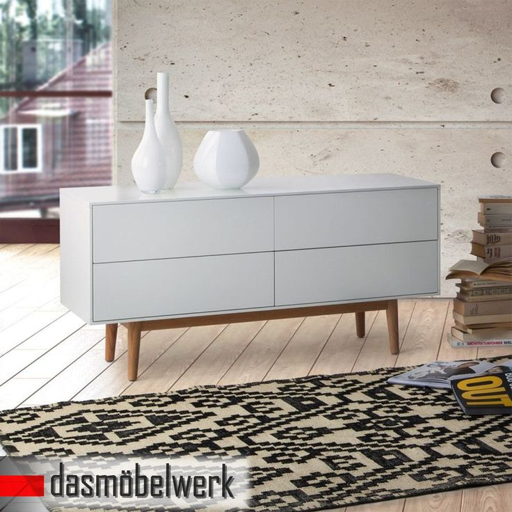 17 best ideas about sideboard eiche massiv on pinterest for Sideboard lindholm iii