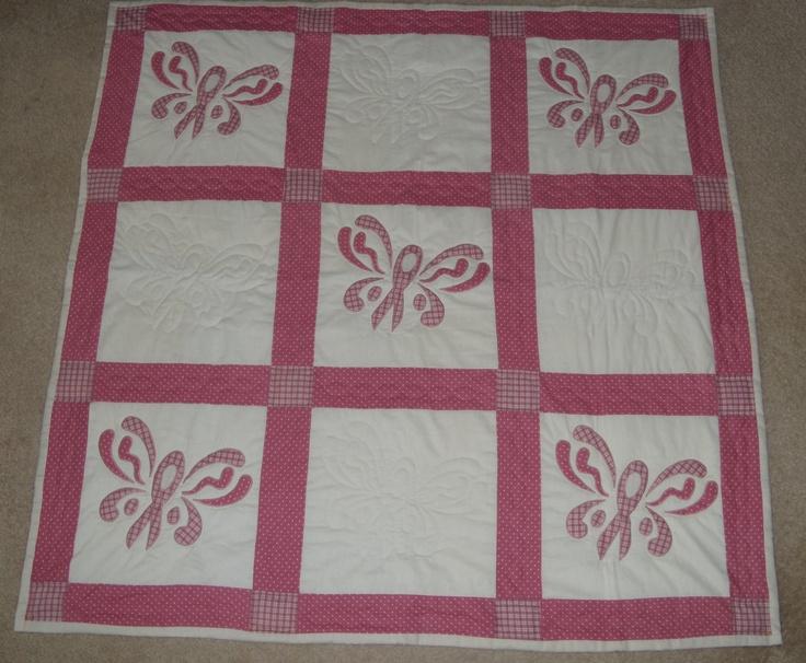 Free pattern for cancer quilt