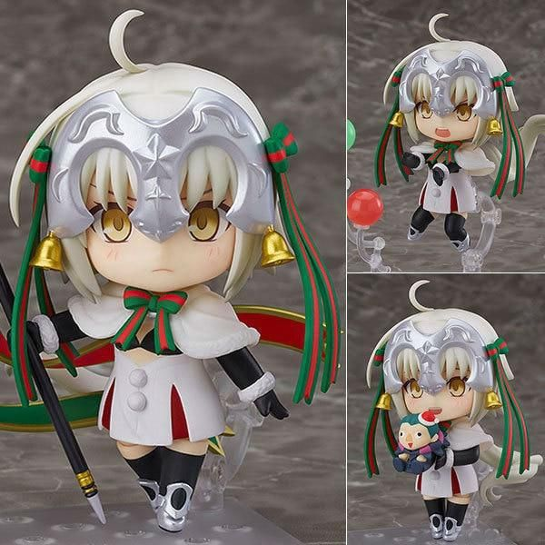 38 Off Fate Grand Order Jeanne D Arc Alter Santa Lily Nendoroid Anime Cartoon Action Figures