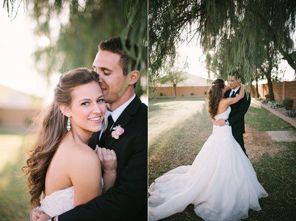 Американская свадьба на открытом воздухе от Gina Meola
