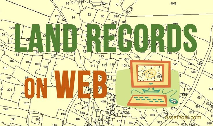 Land Records on Web – Online Land Record System in India