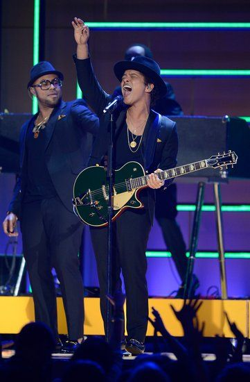 Bruno Mars at the Grammys