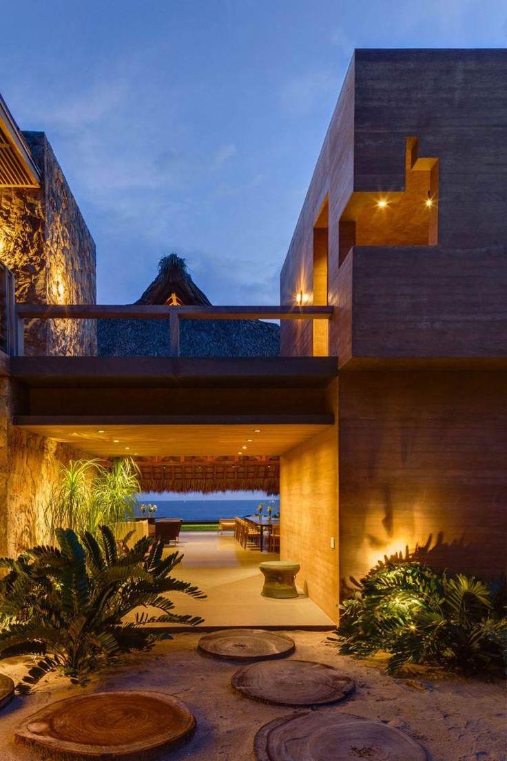 Tradition trifft Moderne in der modernen Architektur und Innengestaltung