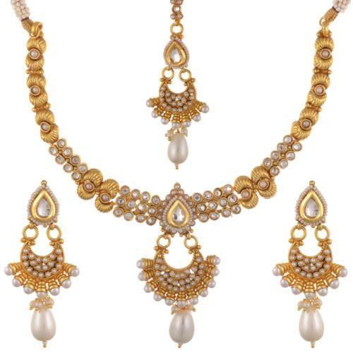new indian fashion jewelry necklace set bollywood ethnic gold plated traditional in Украшения и часы, Товары разных регионов, этнических групп и племен, Азия и Восточная Индия, Наборы | eBay