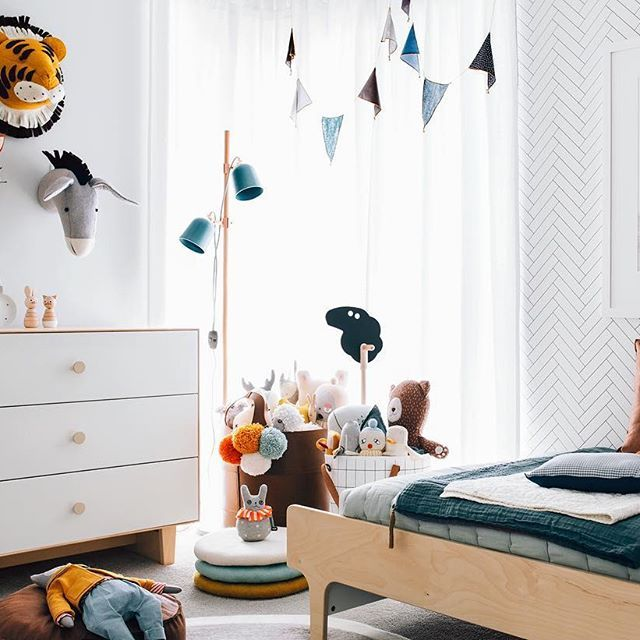 In Love With This Room! Bright And Full Of Fun, Modern Scandi Vibe.