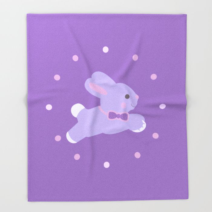 20% Off Throw Blankets Today! Baby Bunny Girl Throw Blanket by Scar Design. #sale #sales #love #life #discount #deals #baby #animals #bunny #mommy #daddy #purple #pink #babyblanket #babyshower #giftideas #family #gifts #giftsforhim #giftsforher #babygirl #girl #itsagirl #onlineshopping #shopping #39 #cool #awesome #uncle #aunt #grandpa #grandma #owl #baby #blanket #society6 #scardesign #baby #babyshower #cute #colorful #babyshowergifts #babygirlgifts #society6 #scardesign