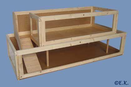 die besten 25 hasenk fig selber bauen ideen auf pinterest hasenk fig selber bauen. Black Bedroom Furniture Sets. Home Design Ideas