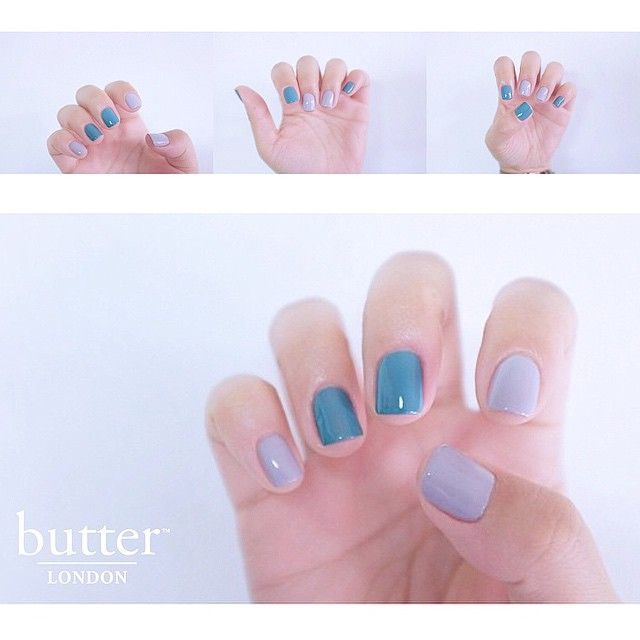A gorgeous paint job by @Nail.jay | we love Muggins and Artful Dodger on you. #butterlondon#Photofyapp#friYay
