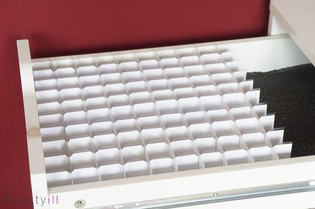 DIY | Lipstick Opbergen ~ Beautyill | Beautyblog met nail art, nagellak, make-up reviews en meer!