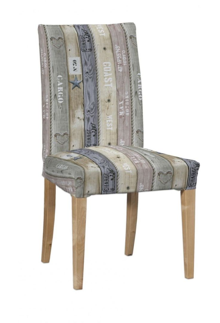 Henriksdal chair cover in collection Marina, fabric: 140-16