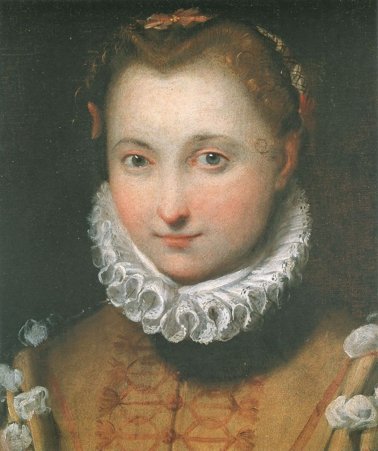 Barocci, Federico (1535 - 1612) Portrait of a young lady in 1570 -80 th