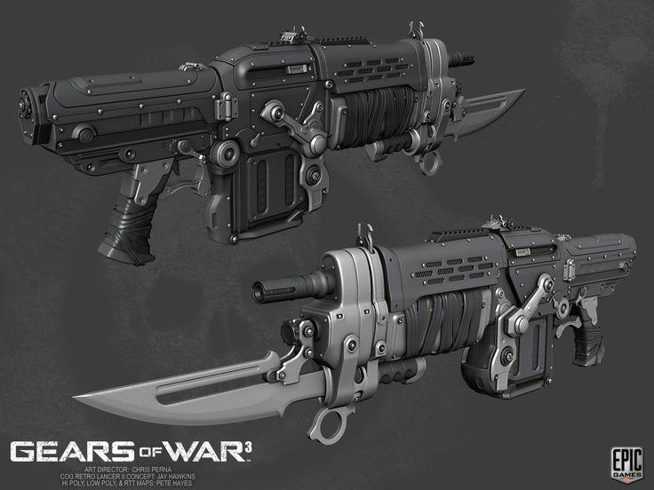 Artstation Gears Of War 3 Yem Yam Gears Of War Gears Of War 3 Gears