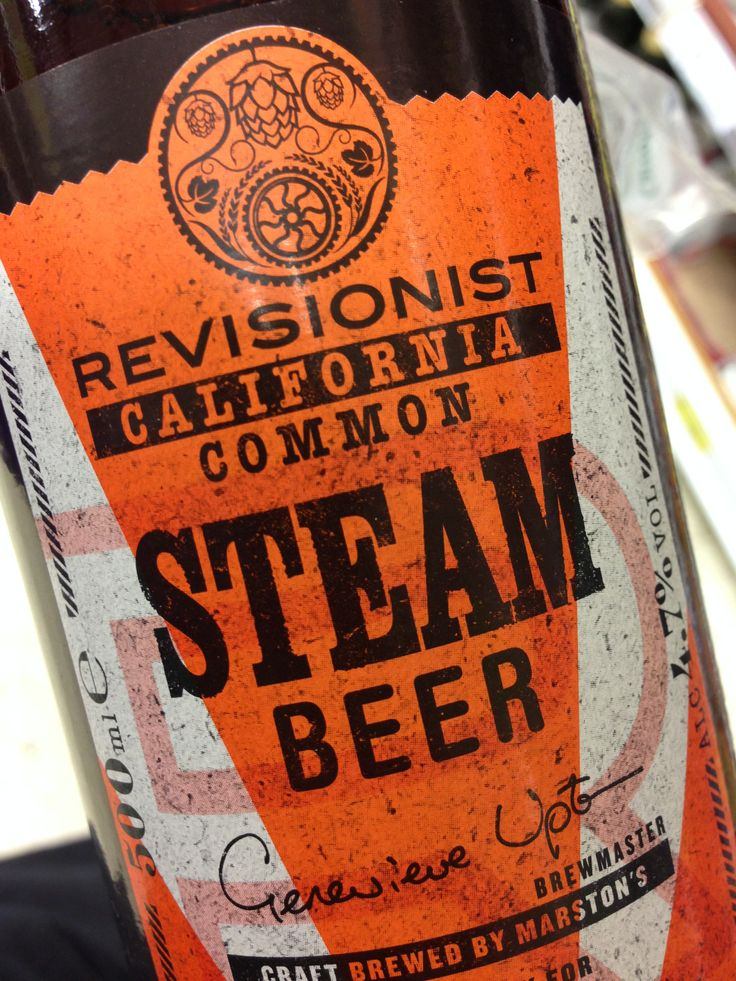 New Tesco own label range: Revisionist.  Here, 'California Common Steam Beer' (brewed in Burton on Trent); elsewhere, 'Belgian Saison' (brewed in Burton on Trent).  Authenticity not that high up the agenda then...