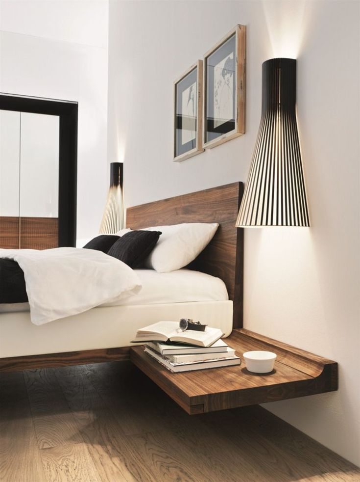 nice 67 Minimalist Bedside Table Lamps Ideas to Makes Your Room Cozier  https://about-ruth.com/2017/09/29/67-minimalist-bedside-table-lamps-ideas-makes-room-cozier/