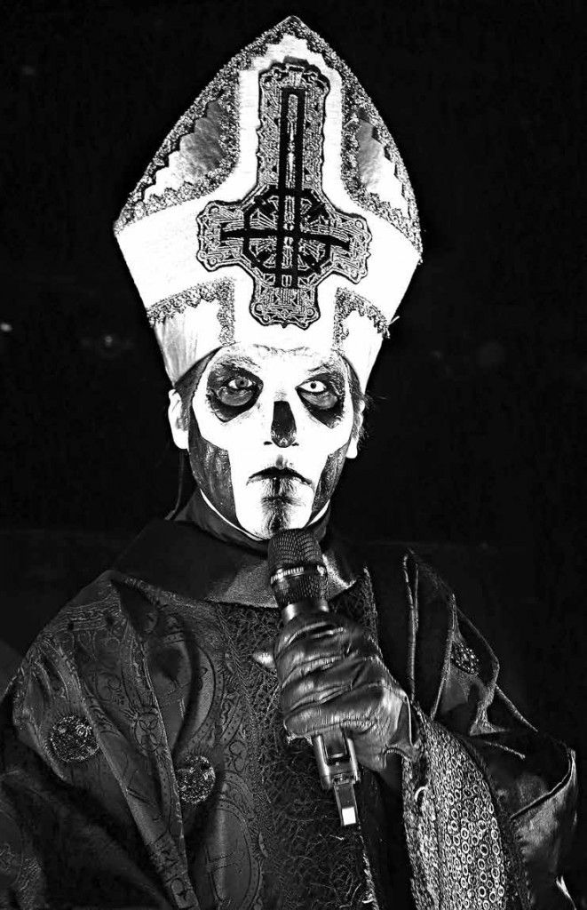 GHOST BC BAND POPE  HEAVY METAL T-SHIRTS and METALHEAD COMMUNITY BLOG. The World's No:1 Online Heavy Metal T-Shirt Store & Metal Music Blog. Check out our Metalhead Clothing and Apparel Store, Satanic Fashion and Black Metal T-Shirt Stores; https://heavymetaltshirts.net/