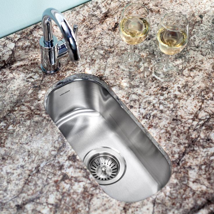 Features:  -Bar / prep sink.  -Stainless steel.  -Undermount.  -Premium grade T-304 stainless steel.  -18 Gauge.  -Stonegaurd undercoating over super-silencer pad.  Installation Type: -Bar.  Finish: -