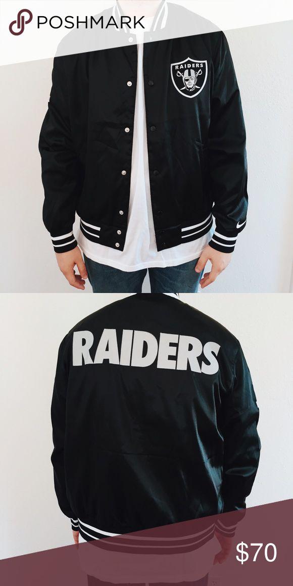 Oakland Raiders Varsity Jacket Perfect Condition. Never worn. Nike Jackets & Coats Bomber & Varsity