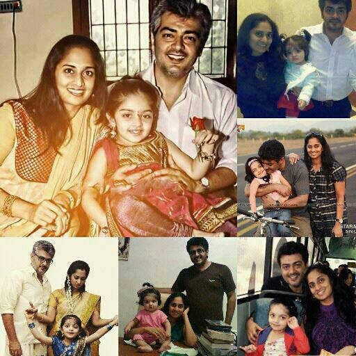 Ajith Kumar family Photos