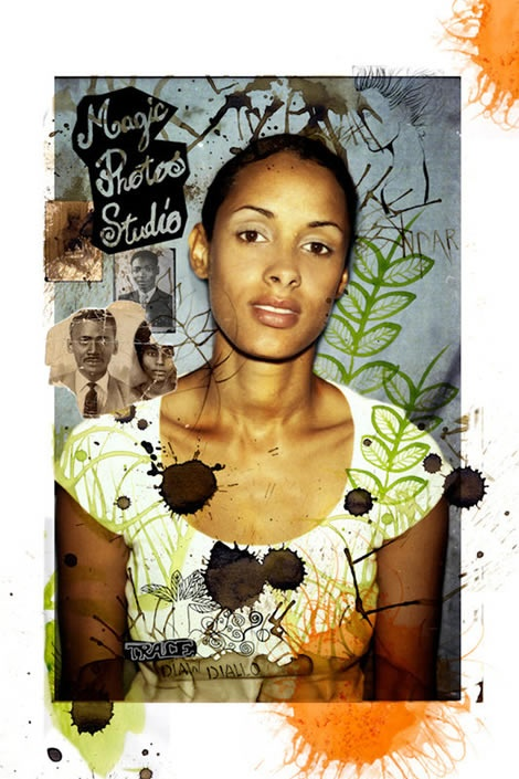 From French-Senegalese artist Delphine Diallo