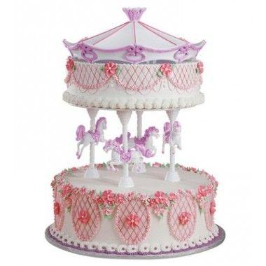 Présentoir gâteaux Carrousel Wilton 30.31  mariage  Pinterest ...