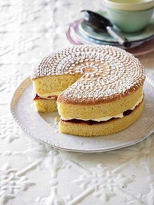 "Merle Parrish, CWA member and Masterchef competitor's ""Never Fail Sponge"" recipe • CWA Australia recipes"