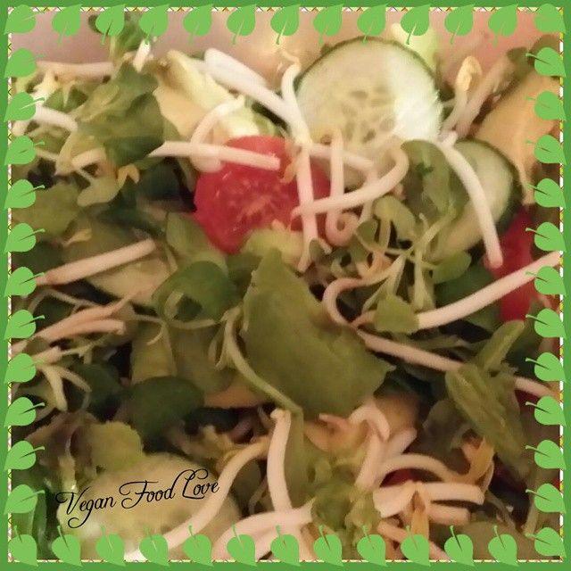 Salad #avacodo #avocadosalad  #salad #veganlove  #vegan #veganfoodlove