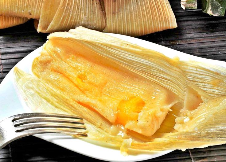 Tamales de piña! My aunt Margaret use to make these!
