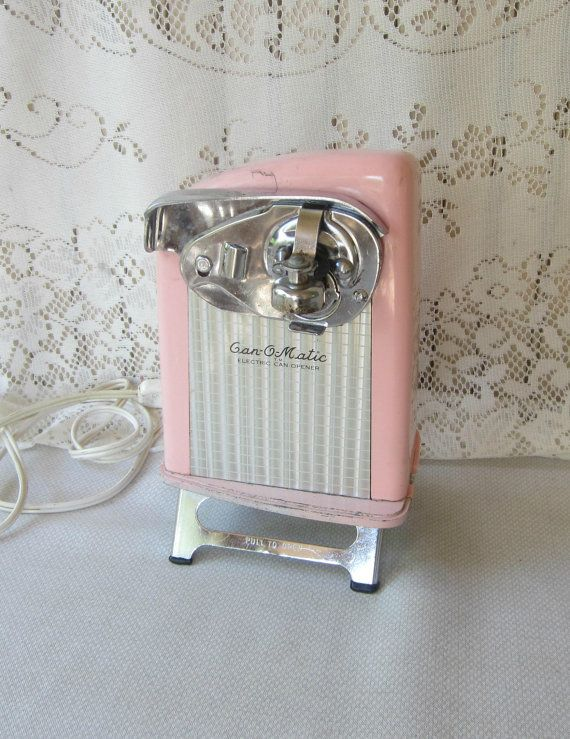 Retro Pink Can-O-Matic Electric Can Opener by VintageSouthernPicks
