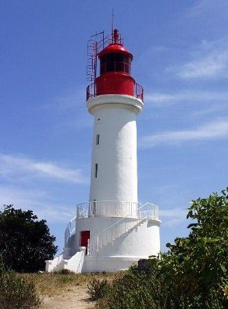 Lighthouses of Guadeloupe : Le phare de l'Ilet du Gosier