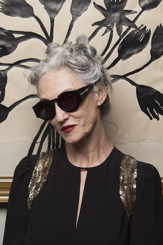 Linda Rodin : the best grey hair