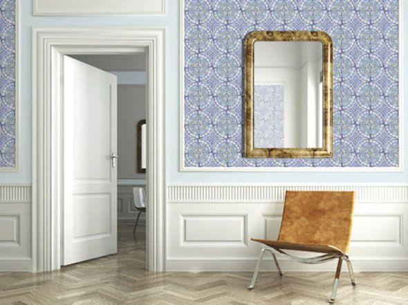 Andere kijk op wand afwerking | Interieur design by nicole & fleur