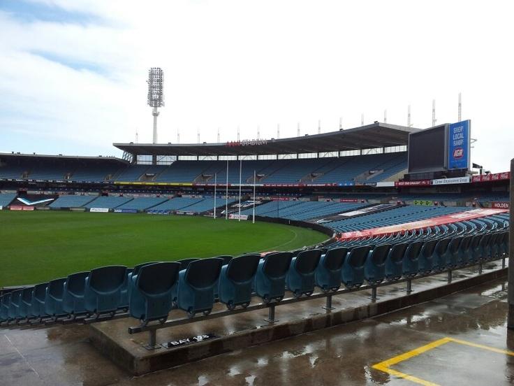 AAMI Stadium Adelaide, South Australia.