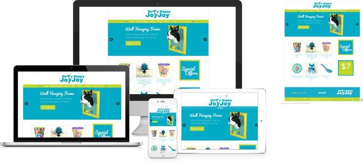 Happy Happy Joy Joy - website design by Forge Online http://www.forgeonline.co.nz/google-adwords/