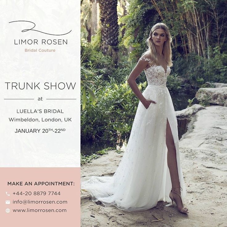 Hello UK brides!! Next stop @luellasbridal  We are so excited!