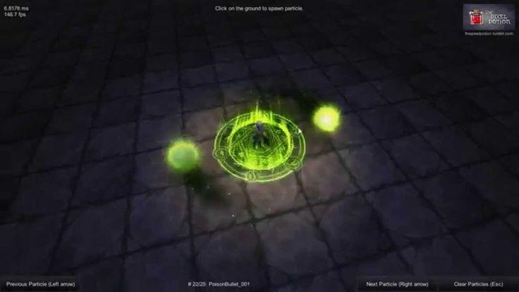 MagicSkills001 for Unity3d
