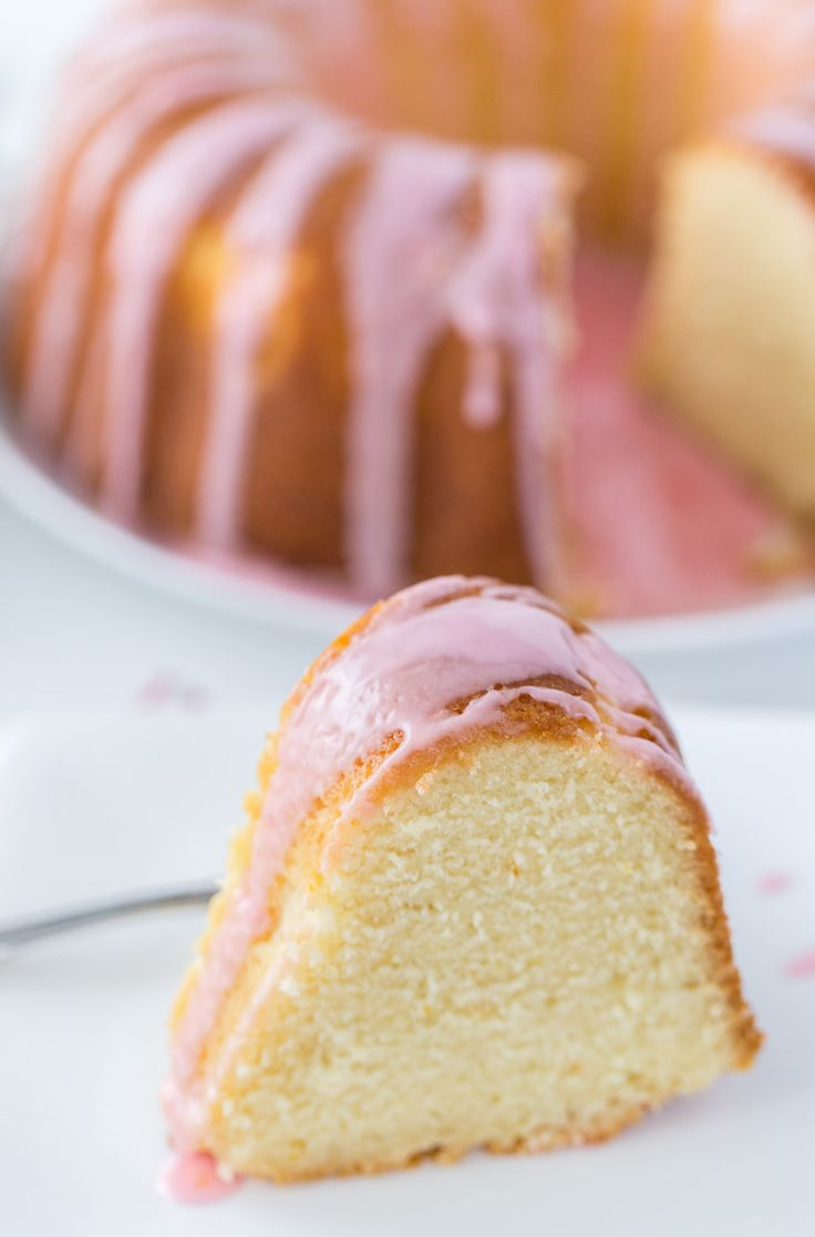 This Blood Orange Mimosa Cake is a statement cake recipe with crisp pink Moscato and sweet blood orange flavors.
