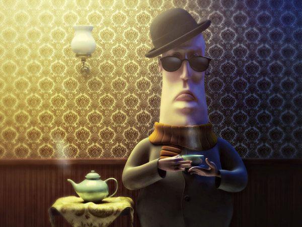 Patience by Zhivko Terziivanov, via Behance
