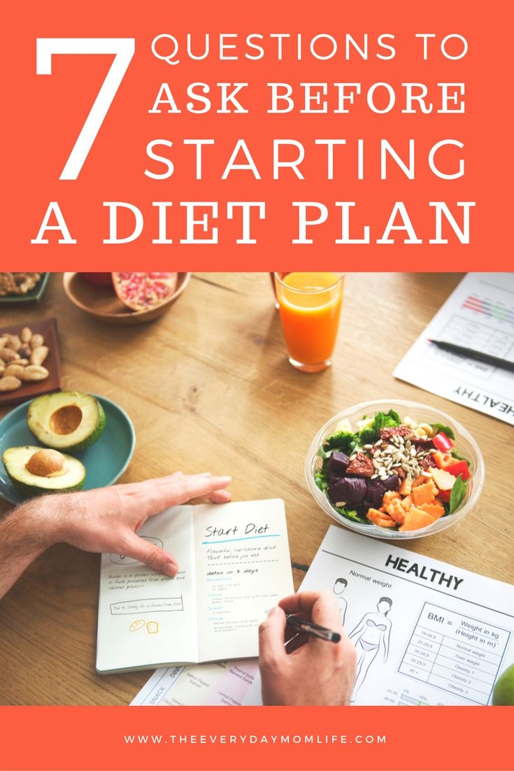 7 Questions To Ask Yourself Before Starting A Diet Start A Diet Healthy Healthy Eating