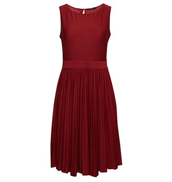 David Lawrence | New Arrivals - Pleat Knit Dress - I love classic pieces that flatter women