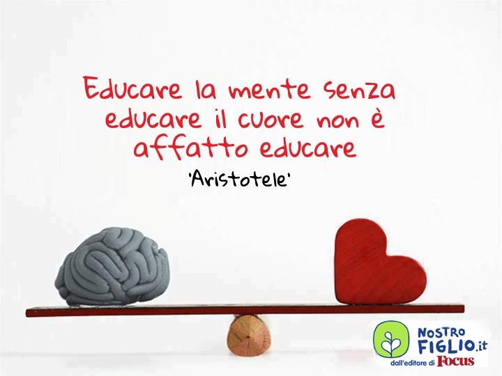 Aristotele... ed educazione