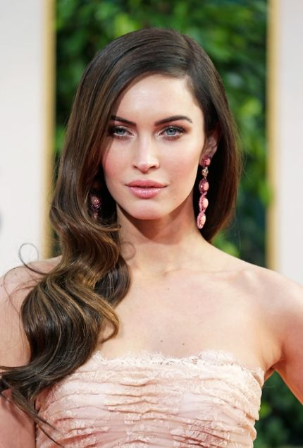 Hairstyles How To: Megan Fox at the 2013 Golden Globes