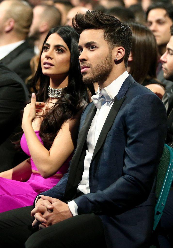 Emeraude Toubia and Prince Royce: 16th Latin GRAMMY Awards - Show