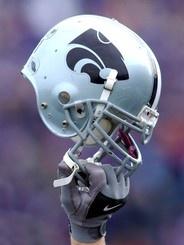 Buy Photo: Kansas State Football Helmet